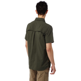 Craghoppers M's NosiLife Adventure SS Shirt Dark Khaki